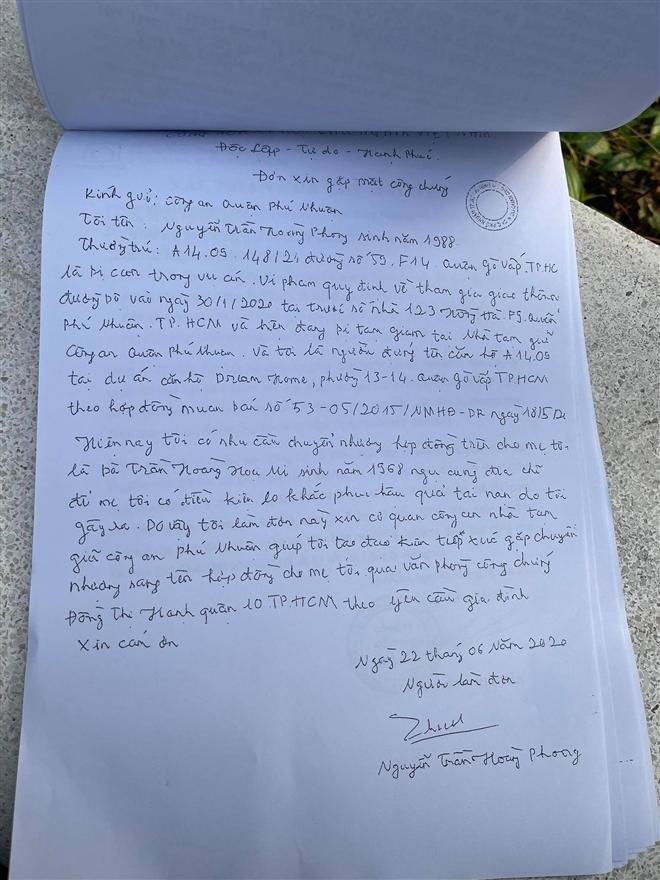 Vụ nữ tiếp viên hàng không bị Mercedes tông: Hồ sơ cho thấy tài xế đã sang tên căn hộ chung cư cho mẹ trong trại tạm giam-1