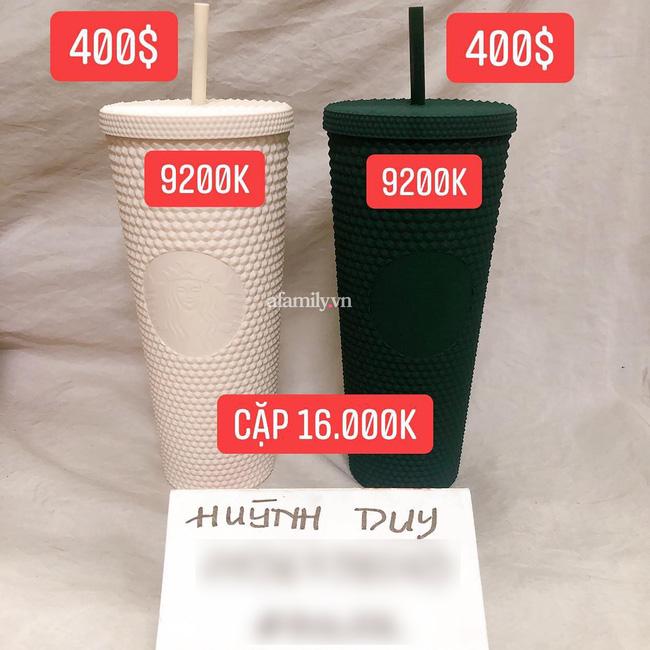 Cơn sốt xếp hàng mua ly Starbucks ở Sài Gòn chưa dứt, nghệ sĩ đại gia nổi tiếng khoe chiếc ly trị giá 100 triệu khiến nhiều người kinh ngạc!-8