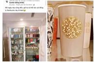 Cơn sốt xếp hàng mua ly Starbucks ở Sài Gòn chưa dứt, 'nghệ sĩ đại gia' nổi tiếng khoe chiếc ly trị giá 100 triệu khiến nhiều người kinh ngạc!