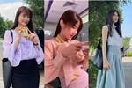 Hết Minh Hằng rồi đến Diễm My 9x khoe style công sở chuẩn sành điệu và thanh lịch trong phim mới
