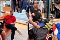Thiếu gia Sài Gòn được mẹ dắt đi sắm sanh, hàng hiệu mà mua cả lố như mình săn đồ si