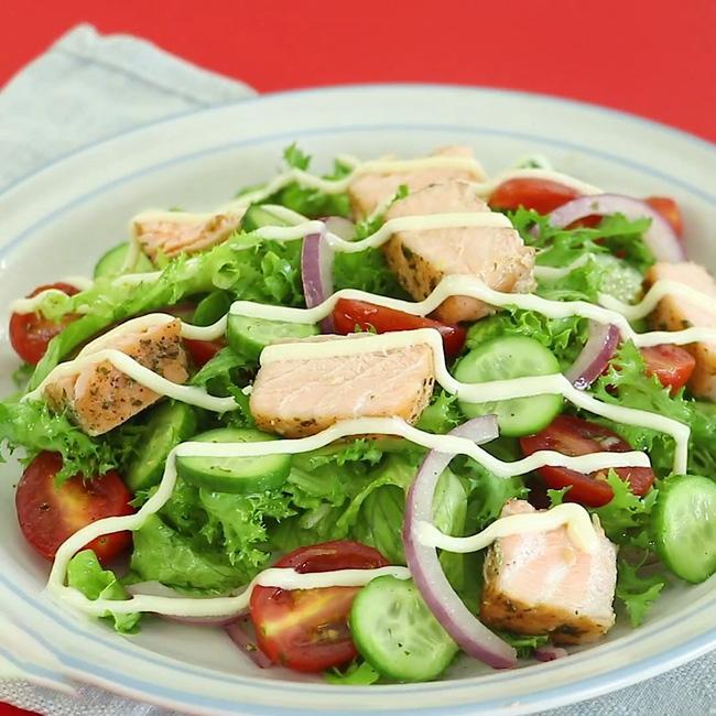 Học được cách làm salad siêu ngon này sau10 ngày tôi giảm tới 3cm vòng eo!-7