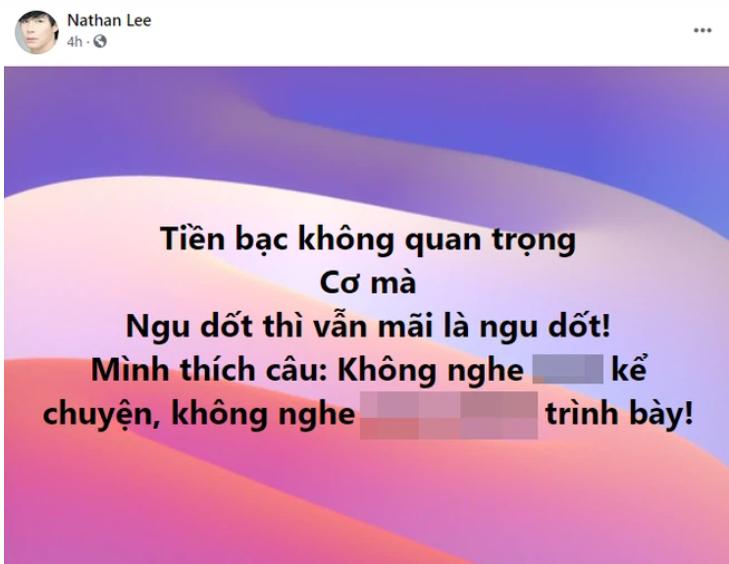 Toàn cảnh drama Nathan Lee - Ngọc Trinh: Gay cấn như phim truyền hình, từ phát ngôn sốc, chuyện quá khứ đến ảnh nhạy cảm đều bị bung bét lên mạng-2