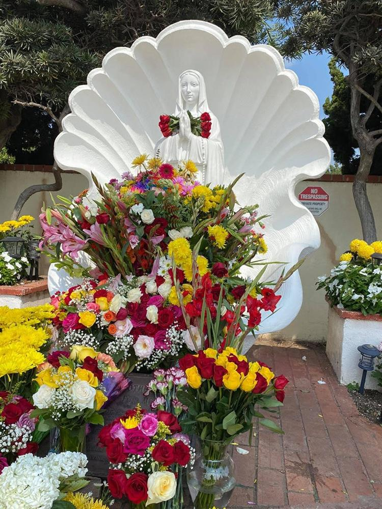 Cách bài trí sân vườn tươi mát và nhiều hoa của danh ca Hương Lan-3