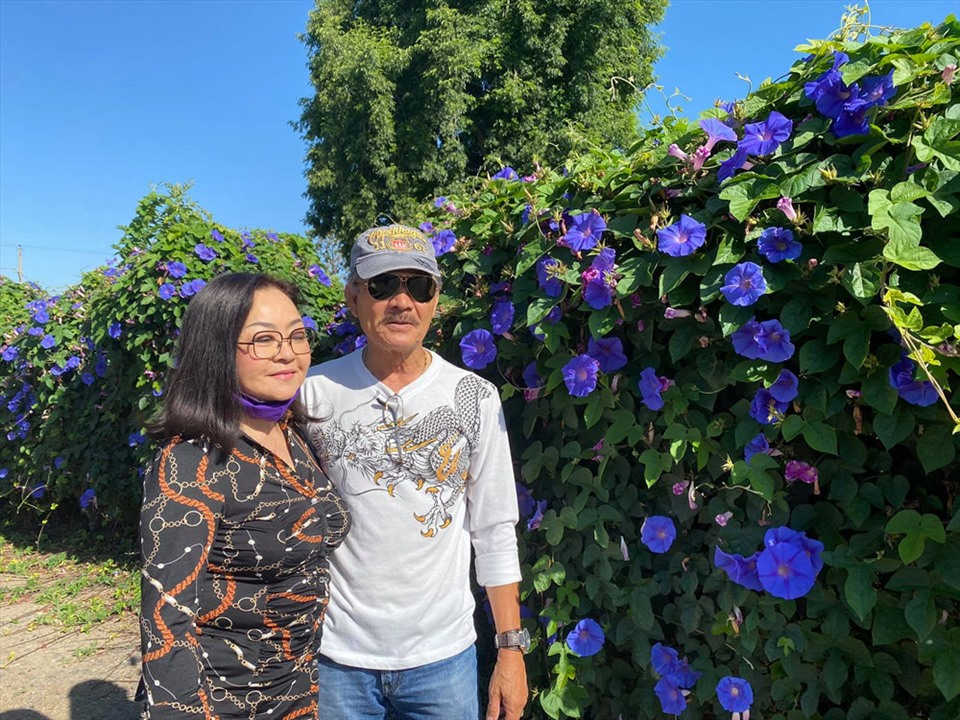 Cách bài trí sân vườn tươi mát và nhiều hoa của danh ca Hương Lan-7