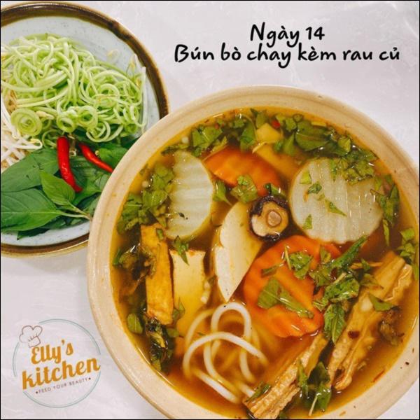 Nấu đồ ăn chay siêu đỉnh như Elly Trần, món nào cũng đầy màu sắc hấp dẫn nhưng vẫn đảm bảo thanh đạm miễn bàn-9