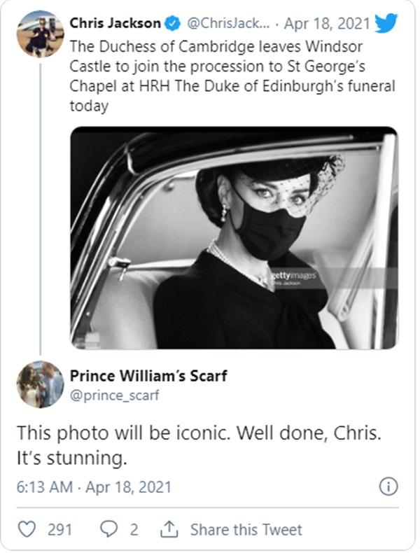 Điều ít biết đằng sau bức ảnh gây bão MXH, đi vào lịch sử của Công nương Kate tại tang lễ Hoàng tế Philip-4