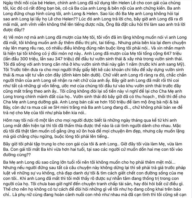 Linh Lan đáp trả bố mẹ Vân Quang Long: Làm rõ nghi án dùng tên giả và hé lộ số tiền 647 triệu cố NS nợ mẹ ruột của cô-2