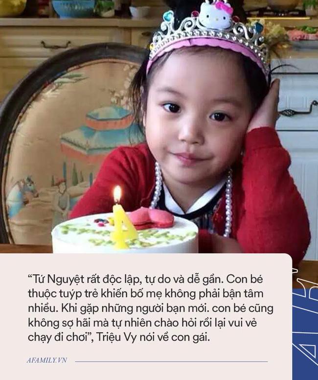 Con gái Triệu Vy xinh đẹp ngỡ ngàng ở tuổi 11, nhưng nhìn 1 chi tiết, dân tình ngơ ngác hỏi nhau: Con của Én nhỏ đây á?-5