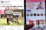 'Hot boy ảnh thẻ' Lê Bảo sở hữu hơn 2 triệu lượt theo dõi trên Facebook quảng cáo cho ứng dụng 'đen' chuyên cờ bạc và nội dung khiêu dâm