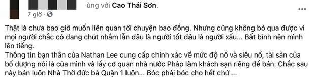 Bị bạn Cao Thái Sơn tố nhận vơ Toà thị chính Paris là khách sạn 2500 tỷ nhà mình, Nathan Lee lên tiếng và tuyên bố kiện ngược-1