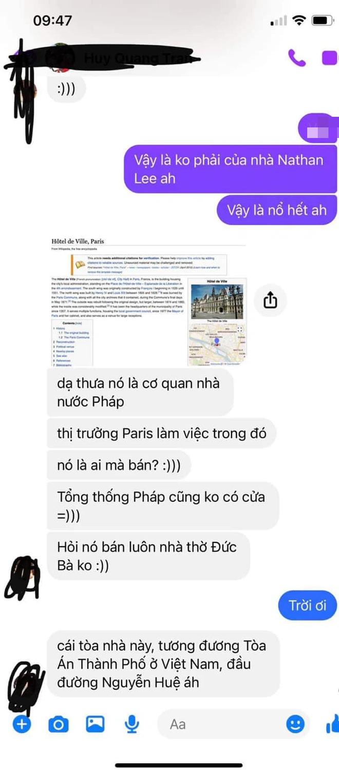 Bị bạn Cao Thái Sơn tố nhận vơ Toà thị chính Paris là khách sạn 2500 tỷ nhà mình, Nathan Lee lên tiếng và tuyên bố kiện ngược-2