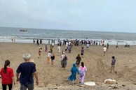 8 học sinh lớp 6 đi tắm biển, 4 em chết đuối và mất tích