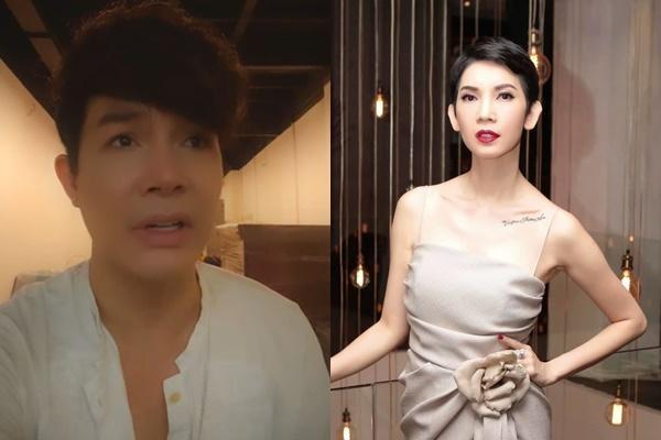 """Xuân Lan có phản ứng đầy bất ngờ khi bị Nathan Lee bóc phốt, nói là bẩn tính nhất showbiz Việt"""" trên livestream-1"""