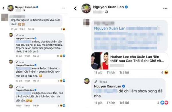 """Xuân Lan có phản ứng đầy bất ngờ khi bị Nathan Lee bóc phốt, nói là bẩn tính nhất showbiz Việt"""" trên livestream-3"""