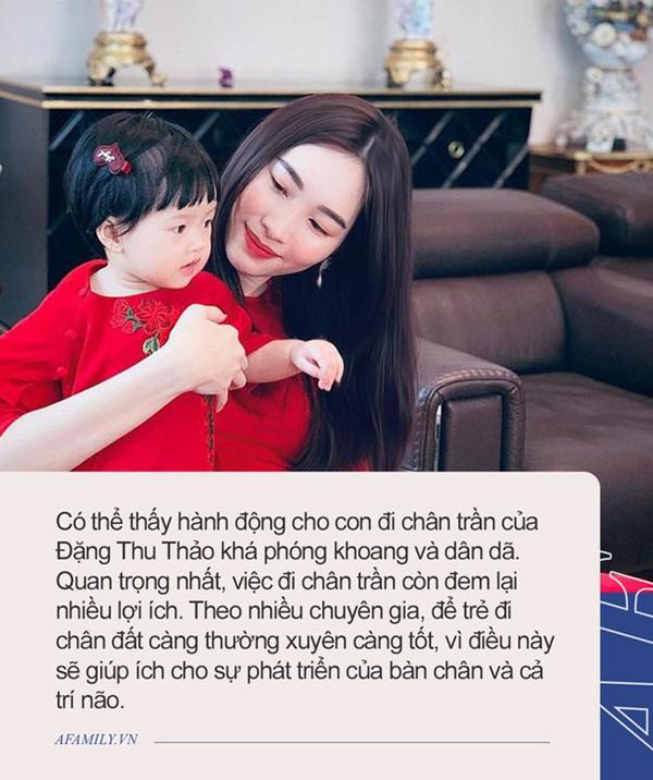 Cô bé Gen Alpha nhà Đặng Thu Thảo: Càng lớn càng ra dáng mỹ nhân, soi kỹ đôi chân mới phát hiện cách nuôi dạy đặc biệt của mẹ-3
