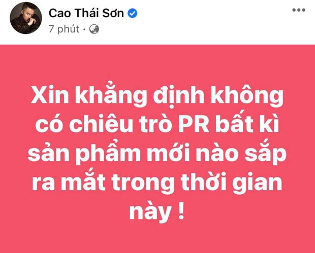 Cao Thái Sơn chính thức lên tiếng về tin đồn mượn thị phi với Nathan Lee để PR sản phẩm mới-1