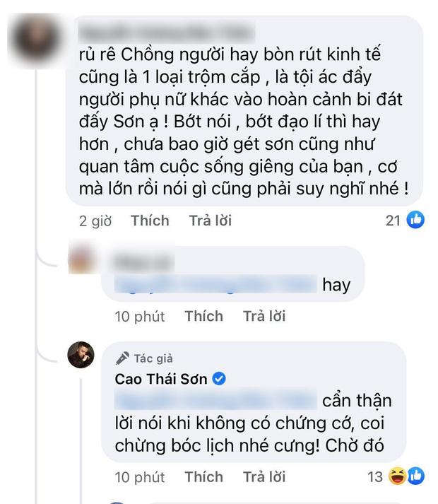 Cao Thái Sơn chính thức lên tiếng về tin đồn mượn thị phi với Nathan Lee để PR sản phẩm mới-3