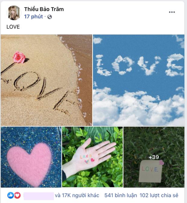Thiều Bảo Trâm đăng một lèo 43 tấm ảnh Love ngay sau khi Sơn Tùng vừa thổ lộ yêu vào khổ lắm-1