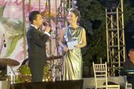Quang Dũng ứng xử văn minh khi đứng cạnh vợ cũ Jennifer Phạm, nói câu bất ngờ