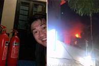 Thiếu gia Phillip Nguyễn được khen ngợi vì dũng cảm bê bình cứu hoả, xông vào dập đám cháy lớn ở gần nhà