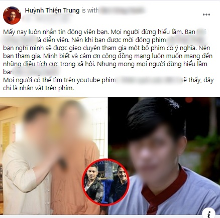 Dân mạng bênh vực nam diễn viên đóng vai mù trong clip có Võ Hoàng Yên, nhiều người trong nghề lên tiếng yêu cầu nghệ sĩ Hồng Ánh xin lỗi-5
