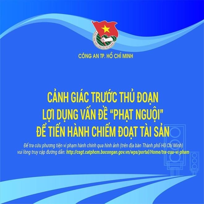 CSGT TP.HCM cảnh báo thủ đoạn thông báo phạt nguội để chiếm đoạt tài sản-1
