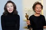 Sao Hàn 74 tuổi lập kỳ tích ở Oscar gây bão với biểu cảm xéo xắt khi trả lời lại câu hỏi về Brad Pitt: Tôi có phải là chó đâu-3