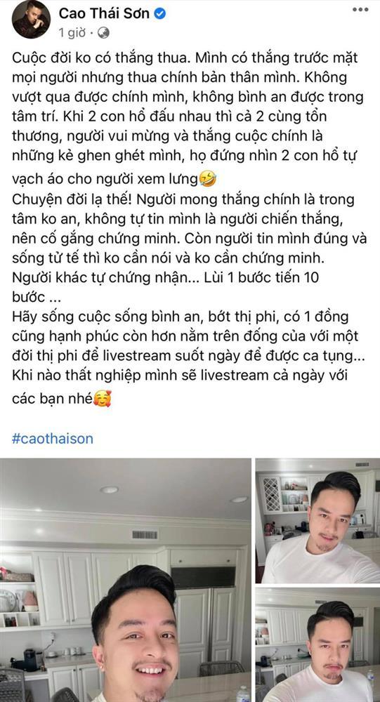 Nathan Lee livestream tố loạt tin gây sốc về Cao Thái Sơn: Thuê giang hồ đánh bồ cũ, lừa tình và gạt tiền khiến người khác tự.tử?-2