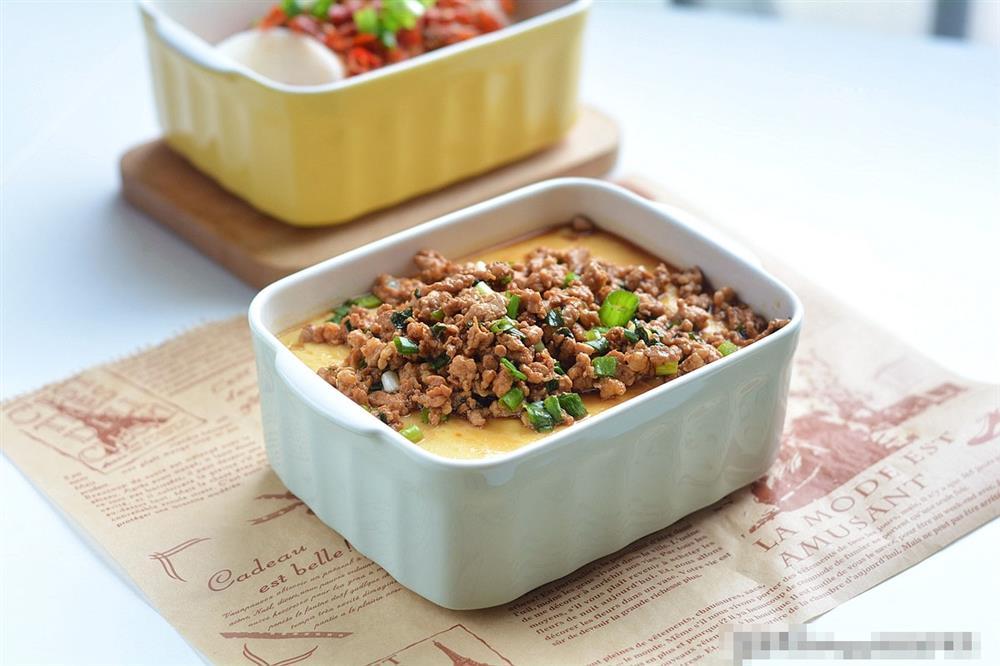 Đậu phụ hấp trứng thịt bằm: Món ăn lạ miệng, vừa bổ dưỡng lại dễ tiêu hóa, ai ăn rồi cũng mê-1