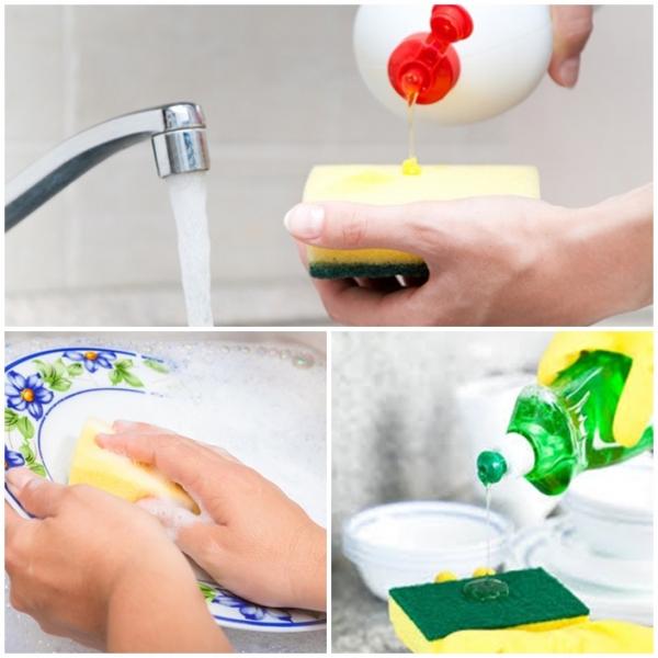 4 công thức pha nước rửa chén loại bỏ vết bẩn, vừa sạch lại vừa an toàn-1