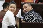 ẢNH: Ông trùm ma túy Văn Kính Dương và người tình Ngọc Miu tay nắm chặt tay, hôn nhau thắm thiết trước giờ tuyên án-12