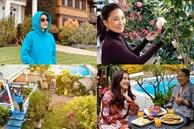 Biệt thự và khu vườn nhỏ ngập tràn hoa của nghệ sĩ Hồng Đào ở Mỹ