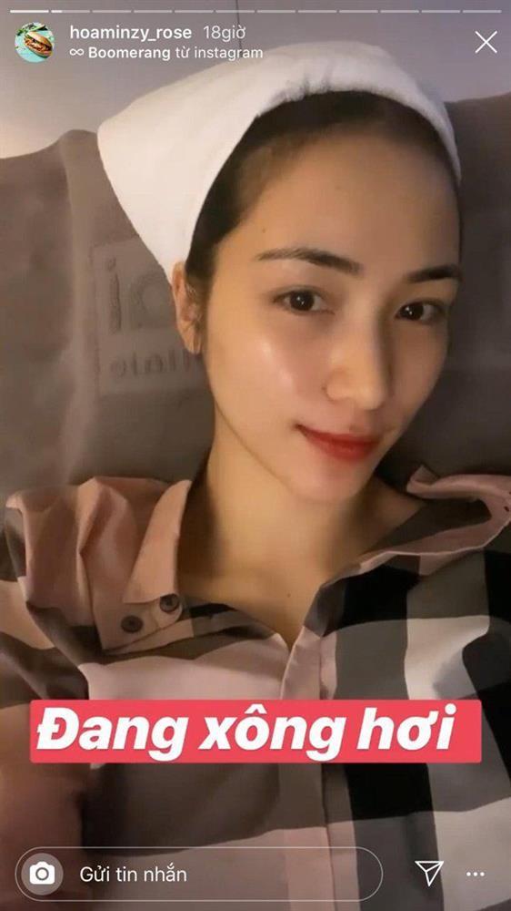 Hòa Minzy muốn trầm cảm vì da dẻ bong tróc thành từng mảng-4
