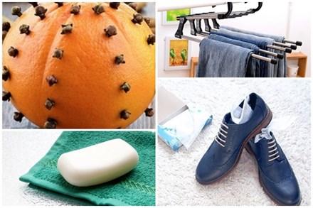 Đánh bay mùi hôi khó chịu trong tủ quần áo bằng một vài mẹo đơn giản, cái số 3 chắc chắn bạn không nghĩ tới