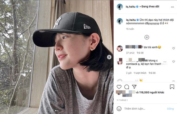 Nằm yên vẫn dính đạn, Instagram Hải Tú ngày nào cũng tụt follow mà chẳng ai hiểu vì sao?-5