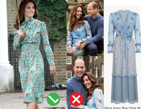 Công nương Kate mặc váy cũ chụp ảnh kỷ niệm 10 năm ngày cưới, nhưng đây là bộ váy nhìn chán nhất tủ đồ của cô-12