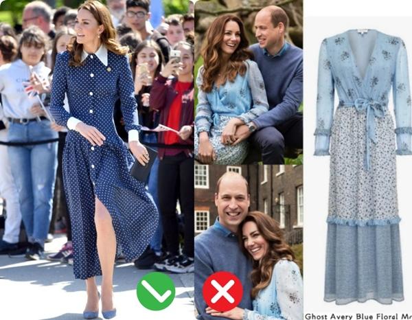 Công nương Kate mặc váy cũ chụp ảnh kỷ niệm 10 năm ngày cưới, nhưng đây là bộ váy nhìn chán nhất tủ đồ của cô-13