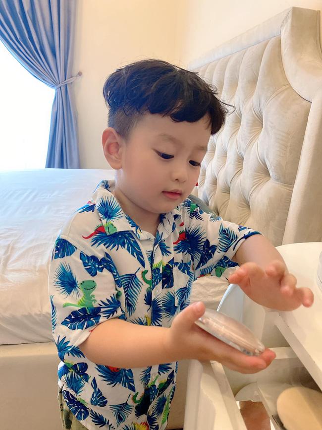 Con trai 5 tuổi hay ốm vặt nằm viện, hot mom Hương Trần - vợ cũ của Việt Anh vẫn có bí kíp chăm con cực bụ bẫm-3