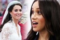 Trong khi chị dâu Kate được khen ngợi sau 10 năm làm dâu, Meghan Markle 'muối mặt' vì bị bóc trần lý do không được dùng trang sức hoàng gia