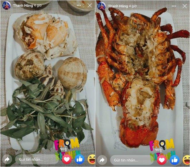 Sao vào bếp: Chị đại Thanh Hằng lại làm fan sáng mắt, nấu hải sản đỉnh như nhà hàng-2