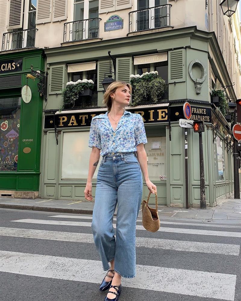 Kiểu áo sơ mi bỏ bùa gái Pháp: Mặc lên trẻ ra mấy tuổi, độ thanh lịch thì miễn chê-2