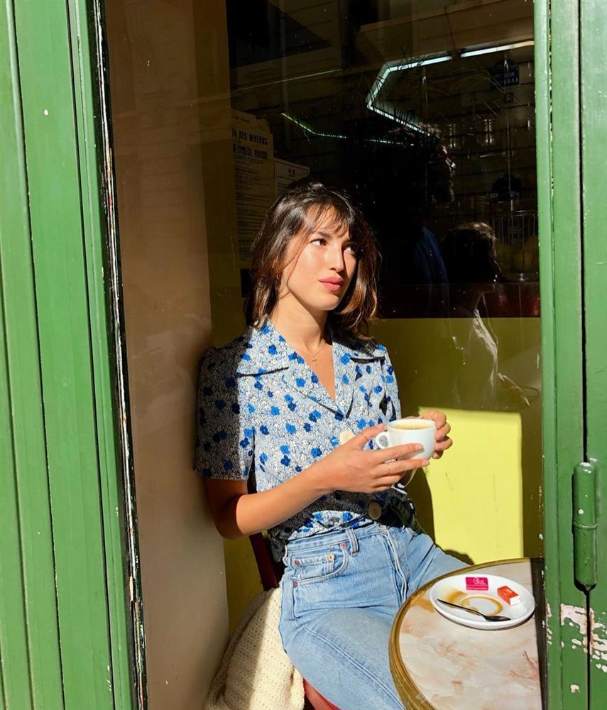 Kiểu áo sơ mi bỏ bùa gái Pháp: Mặc lên trẻ ra mấy tuổi, độ thanh lịch thì miễn chê-14