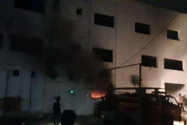 Ấn Độ cháy bệnh viện, ít nhất 18 bệnh nhân Covid-19 thiệt mạng-1