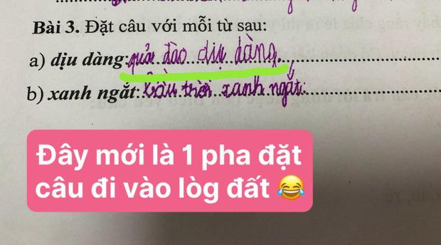 Bài tập tiếng Việt yêu cầu viết 1 câu, cậu nhóc chỉ trả lời 1 từ duy nhất khiến dân tình ôm bụng cười, cô giáo bó tay vì không thể bắt lỗi-2