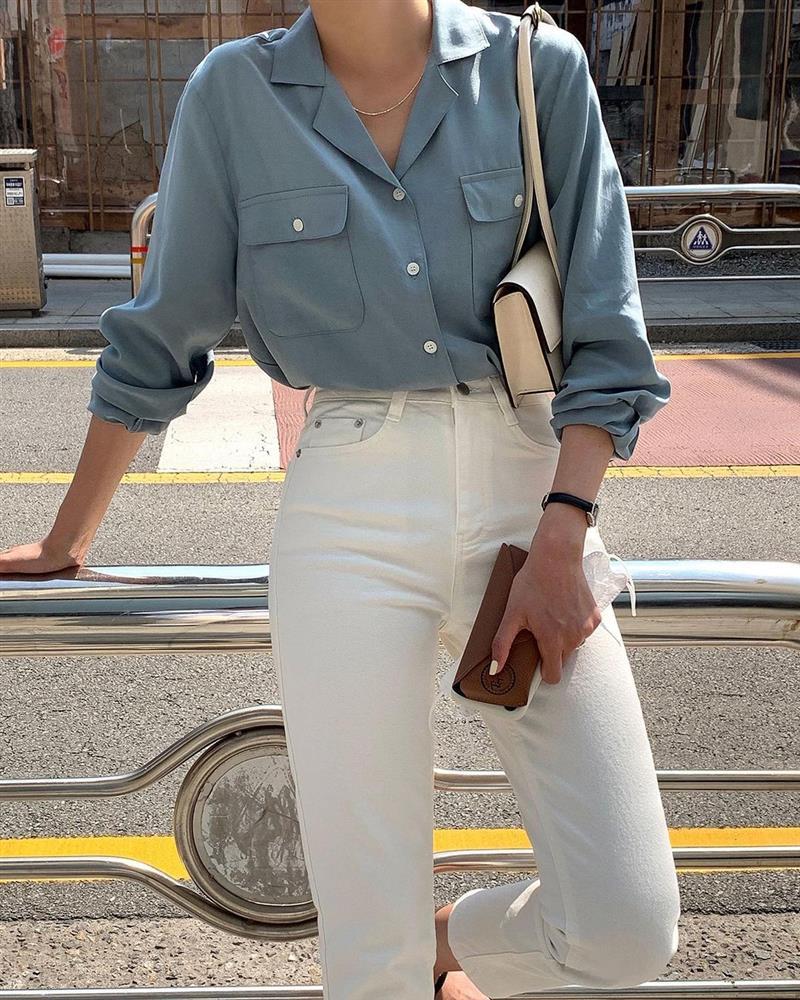Mix quần skinny jeans với 4 kiểu áo sau thì ai cũng sẽ khen bạn mặc đẹp-6