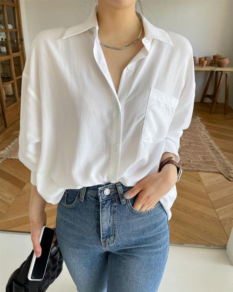 Mix quần skinny jeans với 4 kiểu áo sau thì ai cũng sẽ khen bạn mặc đẹp-14