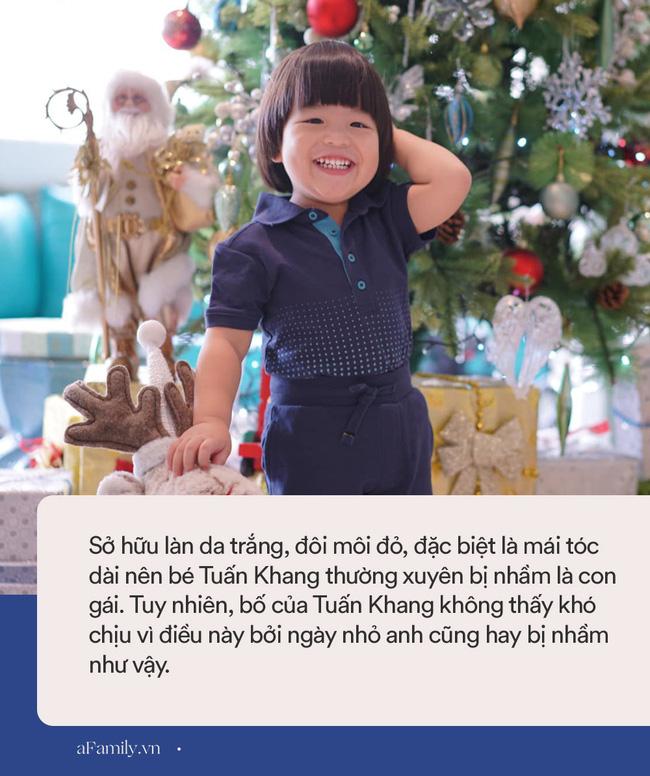Diễn viên Lê Khánh - phụ huynh điển hình của thế hệ Alpha: Cho con trai để tóc dài như con gái, lạ nhất là câu trả lời khi có người hỏi giới tính của con-6