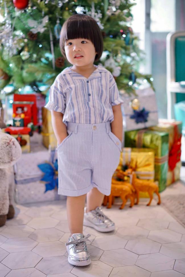Diễn viên Lê Khánh - phụ huynh điển hình của thế hệ Alpha: Cho con trai để tóc dài như con gái, lạ nhất là câu trả lời khi có người hỏi giới tính của con-9
