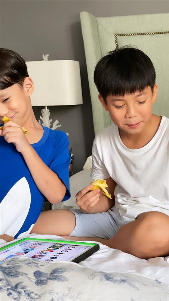 Subeo đúng là quý tử đáng đồng tiền bát gạo: Ngày nghỉ hết rửa xe cho bố Cường Đô La xong lại chạy qua nhà thăm mẹ Hồ Ngọc Hà-2